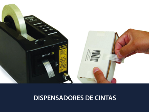 Dispensadores de Cinta