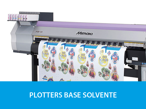 Plotters Base Solvente